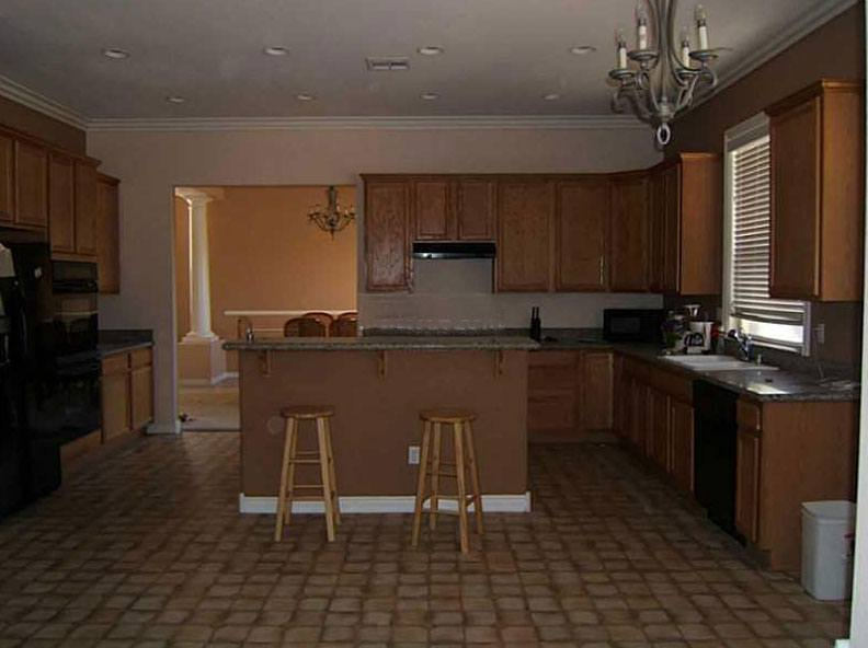 kitchen needing renovation