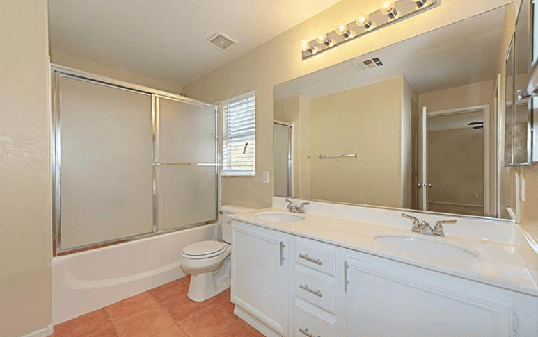 bathroom with home improvements
