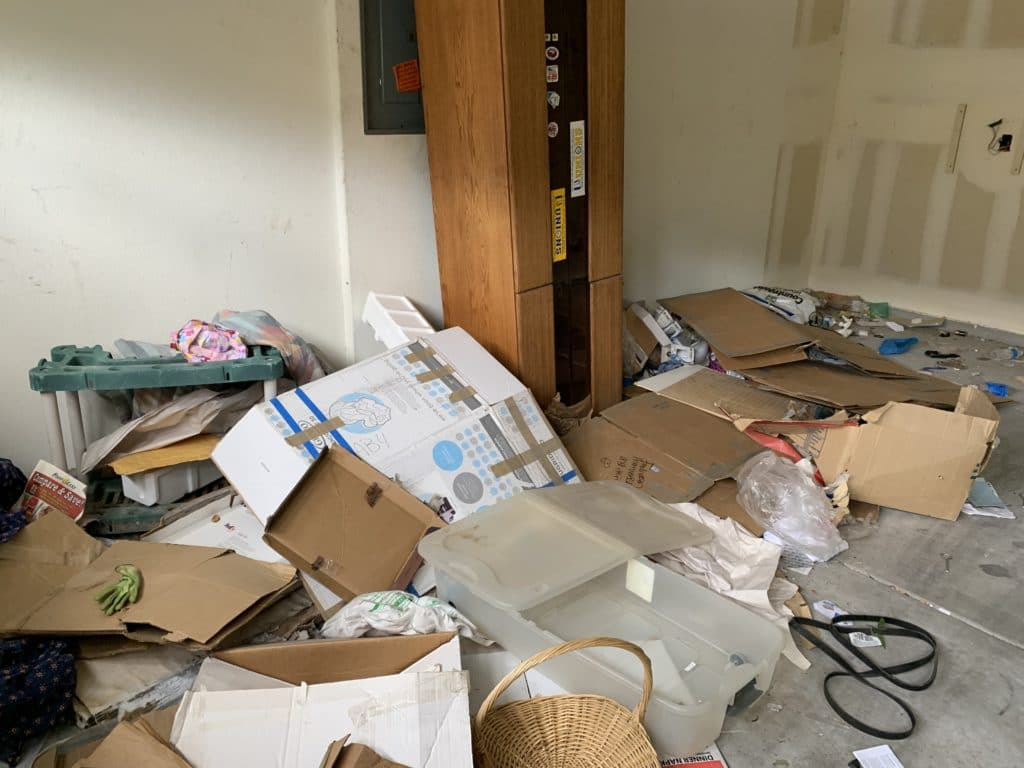 renters destroyed home